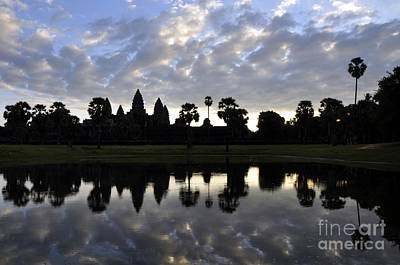 Photograph - Angkor Wat 1 by Andrew Dinh