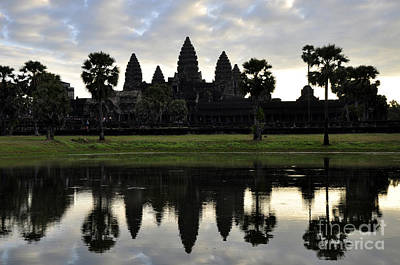 Photograph - Angkor Wat 2 by Andrew Dinh