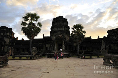 Photograph - Angkor Wat 3 by Andrew Dinh