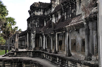 Photograph - Angkor Wat 6 by Andrew Dinh