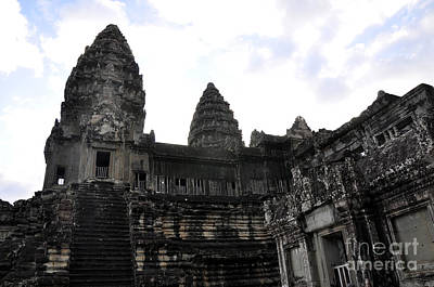 Photograph - Angkor Wat 7 by Andrew Dinh