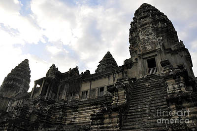 Photograph - Angkor Wat 8 by Andrew Dinh