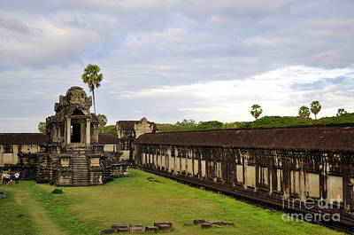Photograph - Angkor Wat 9 by Andrew Dinh