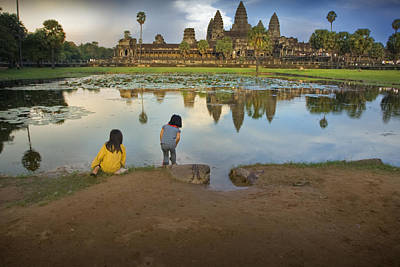 Photograph - Angkor Wat by Jed Holtzman