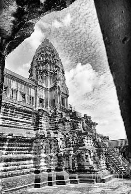 Photograph - Angkor Wat Temple Arch Way View by Rene Triay Photography