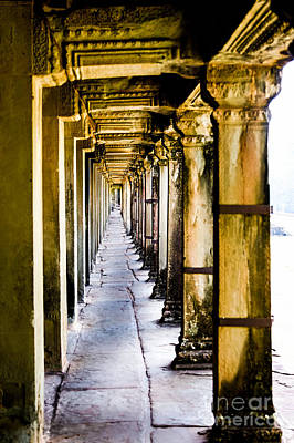 Photograph - Angkor Wat Temple 5 by Rene Triay Photography