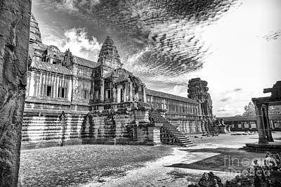 Photograph - Angkor Wat Temple by Rene Triay Photography