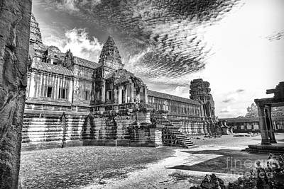 Photograph - Angkor Wat Temple Siem Reap  10 by Rene Triay Photography