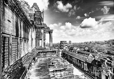 Photograph - Angkor Wat Temple Siem Reap 12 by Rene Triay Photography