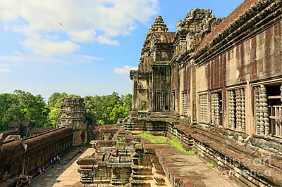 Photograph - Angkor Wat Temple Siem Reap 15 by Rene Triay Photography