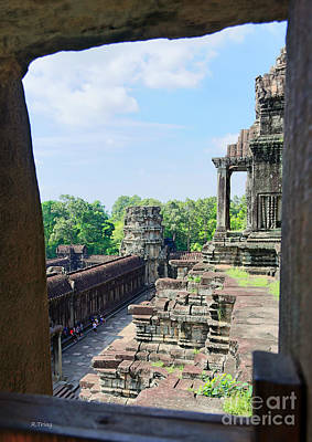 Photograph - Angkor Wat Temple Siem Reap 17 by Rene Triay Photography