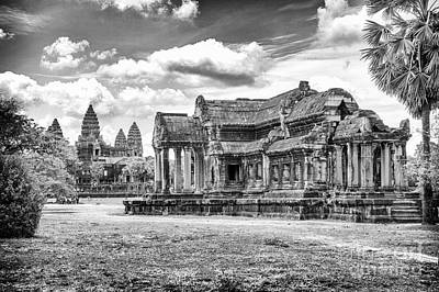 Photograph - Angkor Wat Temple Siem Reap 20 by Rene Triay Photography