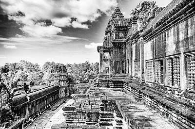 Photograph - Angkor Wat Temple Siem Reap13 by Rene Triay Photography