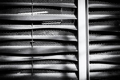 Photograph - Angle Of Venting I by John Williams