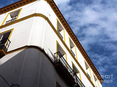 Photograph - Angles In Seville by John Rizzuto