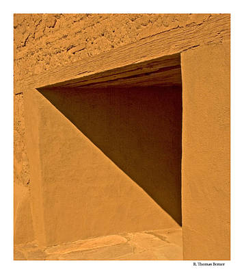 Art Print featuring the photograph Angles by R Thomas Berner