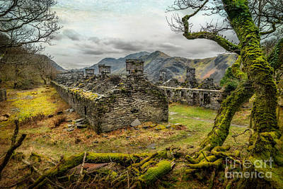 Dilapidated Photograph - Anglesey Barracks by Adrian Evans