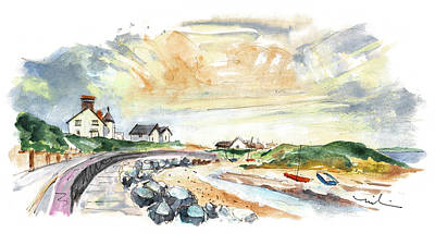 Painting - Anglesey Seascape 04 by Miki De Goodaboom