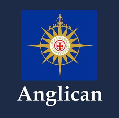 Anglican Flag And Name Original
