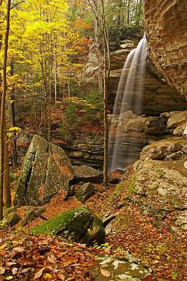 Anglin Falls Berea Kentucky Art Print