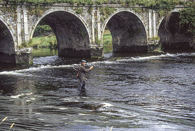 Photograph - Angling Under The Arches by Christopher Rees