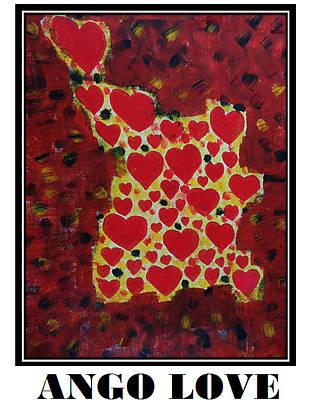 Ango Love Art Print