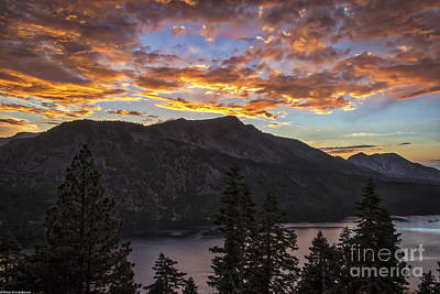 Angora Ridge Sunset 9 Art Print