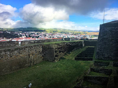 Photograph - Angra Do Heroismo From The Fort Of Monte Brasil  by Kelly Hazel