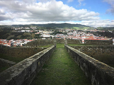 Photograph - Angra Do Heroismo From The Fortress Of Sao Joao Baptista by Kelly Hazel