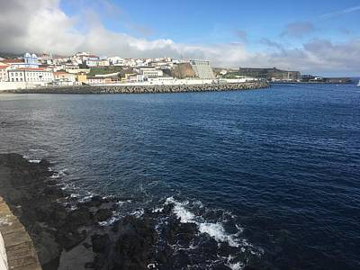 Photograph - Angra Do Heroismo, Terceira, The Azores, Portugal by Kelly Hazel