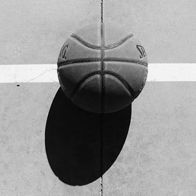 Photograph - Angry Basketball Imoji by Bill Tomsa