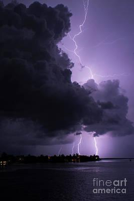 Photograph - Angry Cloud by Quinn Sedam