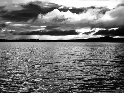 Photograph - Angry Irish Sky by Stephanie Moore