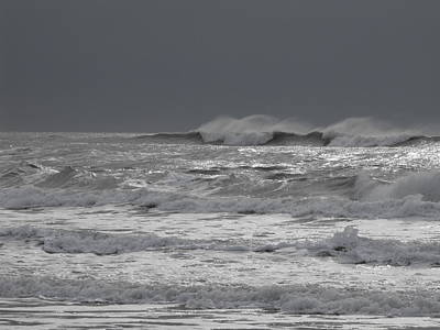 Photograph - Angry Sea by Michael Oceanofwisdom Bidwell