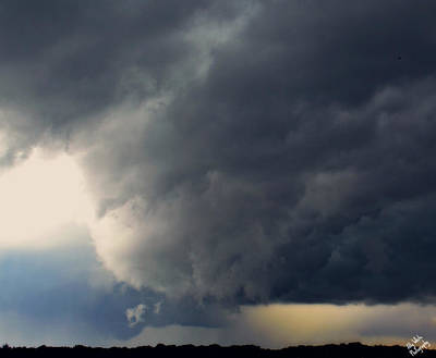 Photograph - Angry Sky by Ally White