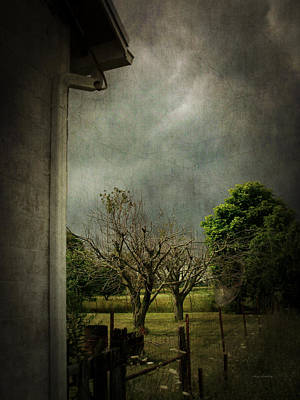 Photograph - Angry Sky by Cynthia Lassiter