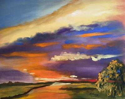 Pastel - Angry Sky by Michele Turney