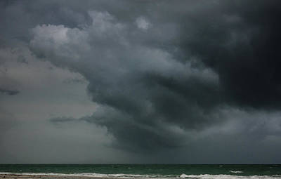 Photograph - Angry Storm At Lido Beach by Joni Eskridge