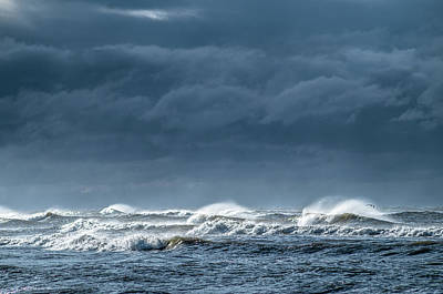 Photograph - Angry Surf by Gerald Monaco