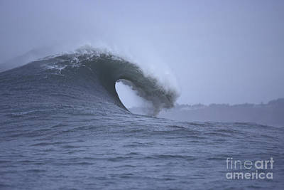 Photograph - Angry Wave Angry Day by Stan and Anne Foster