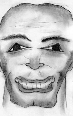 Drawing - Angst In Action by Matt Harang