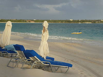 Photograph - Anguilla Beach Chairs by Margaret Brooks