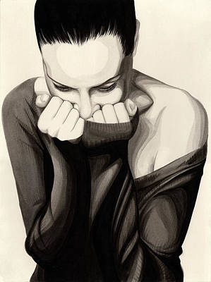 Painting - Anguish #10 by James Taylor