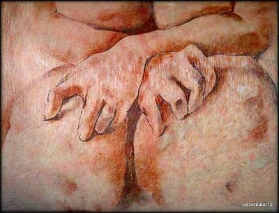 Anguish Print by Paulo Zerbato