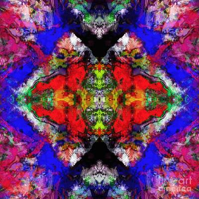 Translucence Digital Art - Angular Voices by Keith Mills