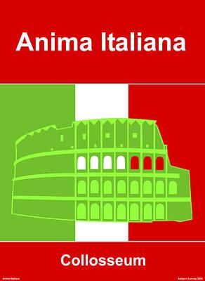 Anima Italiana Art Print by Asbjorn Lonvig