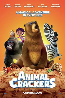 Painting - Animal Crackers 2 by Movie Poster Prints