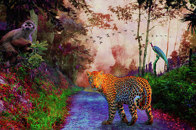 Digital Art - Animal Kingdom 1 by Yuichi Tanabe