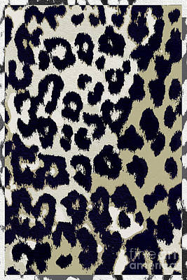 Leopard Painting - Animal Print  by Mindy Sommers
