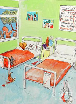 Painting - Animals by Michelle Deyna-Hayward